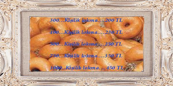 Karşıyaka Lokma Fiyatı